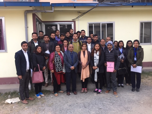 Closing day with Nepal Insurance