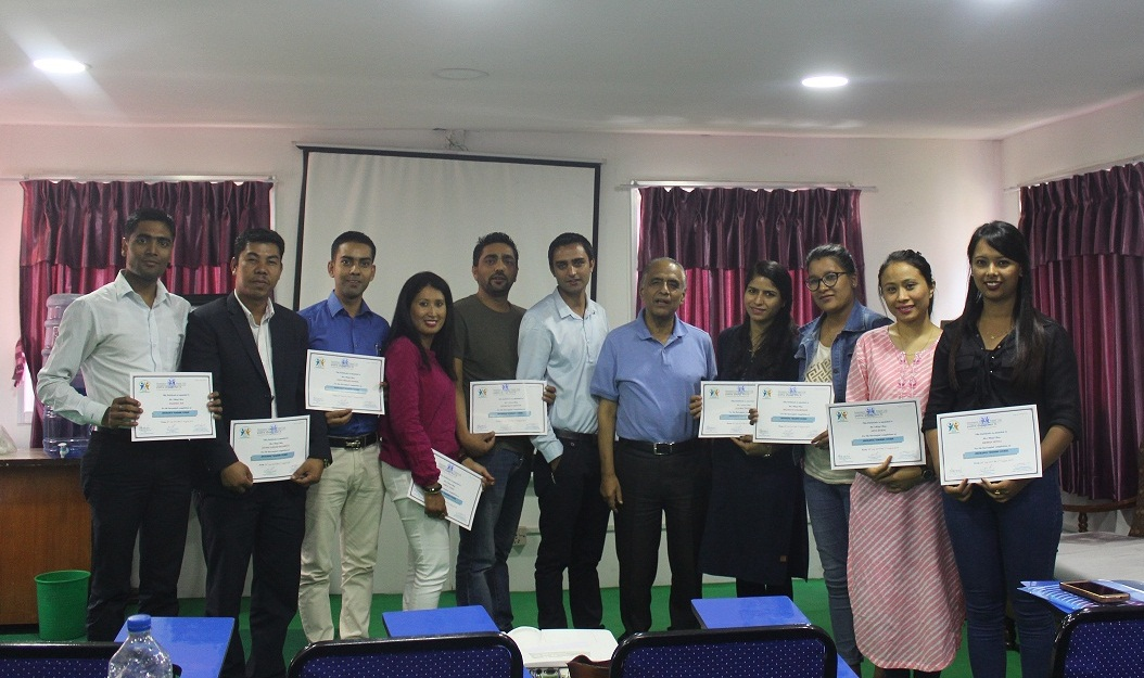 One Week Training Course for Newly recruit officials of Beema Samiti
