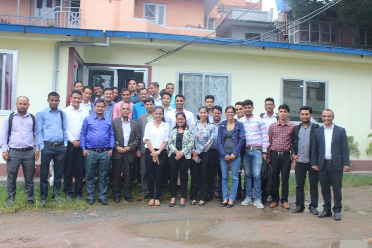 Service Entry Training Programme for officials of Rastriya Beema Sansthan