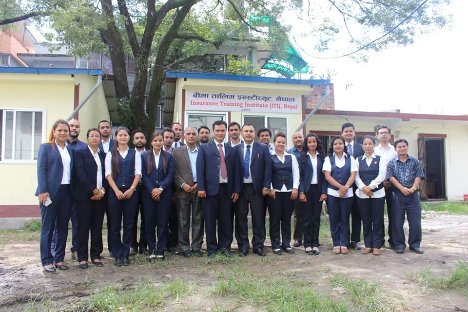 Service Entry Training Programme for the officials of Beema Samiti
