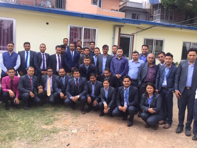 Nepal Life Insurance Training from various Branch