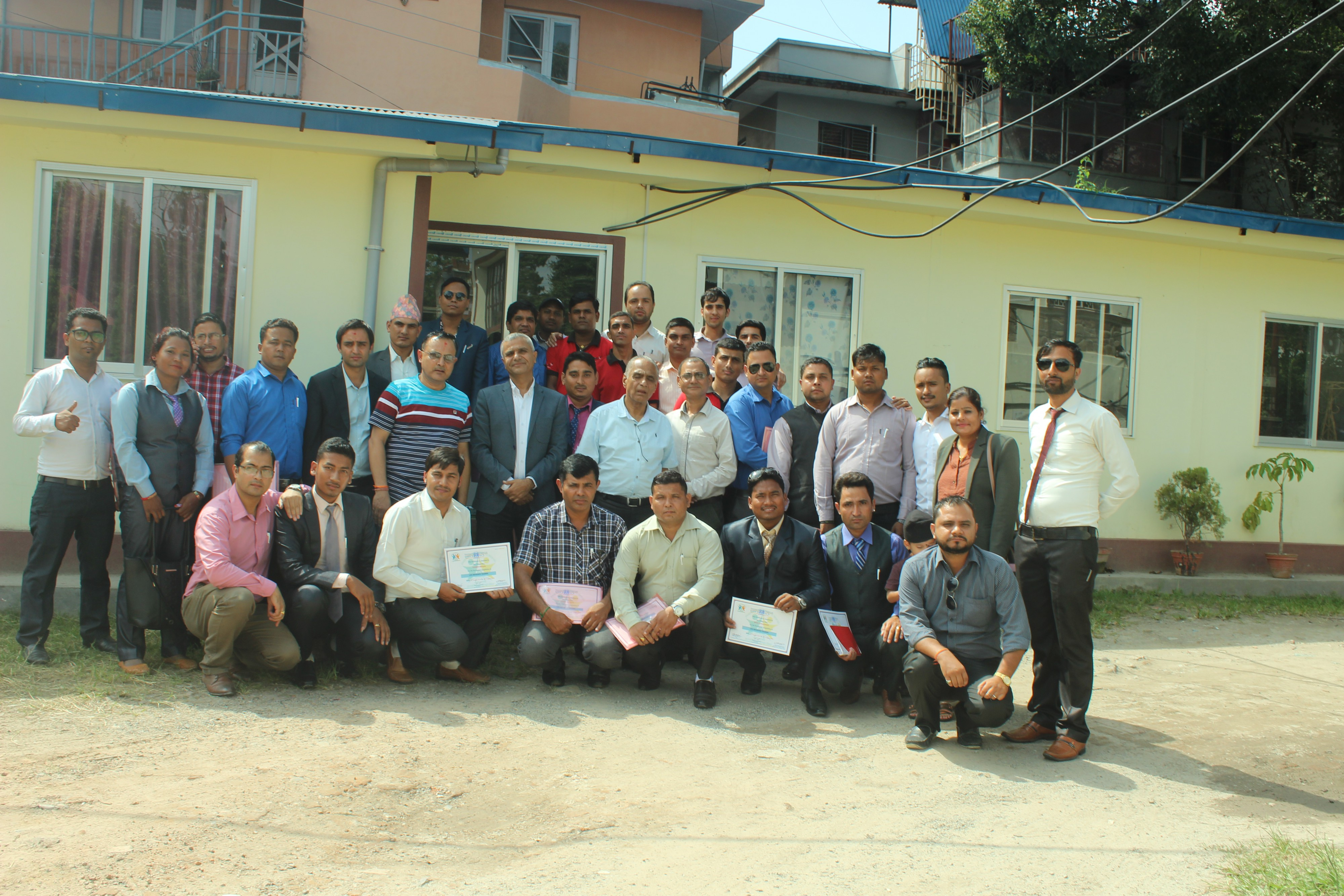 One Weeks' Life Insurance Training For the officials Of IME LIFE Insurance Company From 2076/05/08 to 2076/05/13.