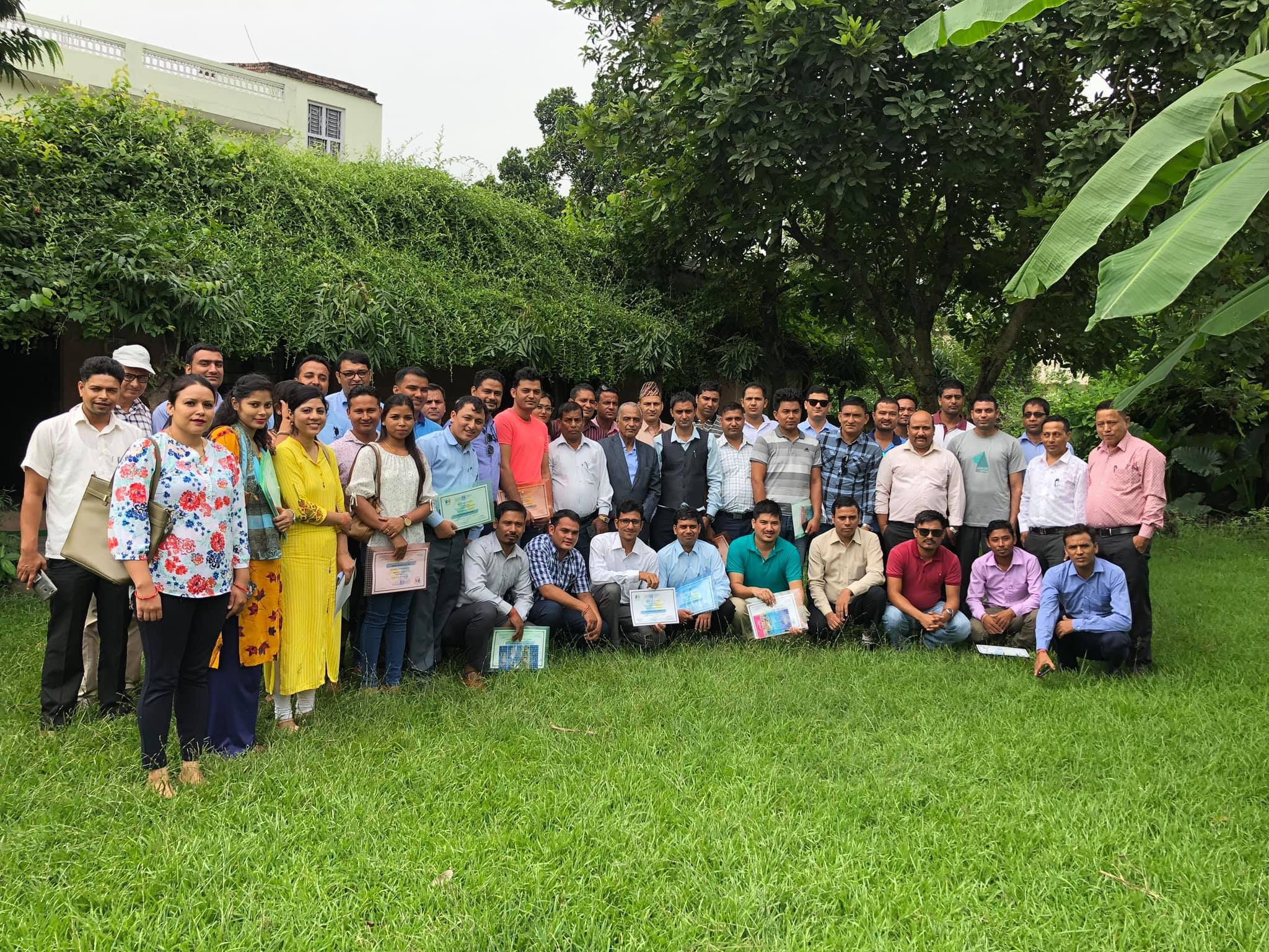 Three days non life insurance training for the officials on Non – Life insurers at dhangadi started from 2076/5/24 – 2076/5/26 . venue – Dev Talim Kendra , Dhangadi