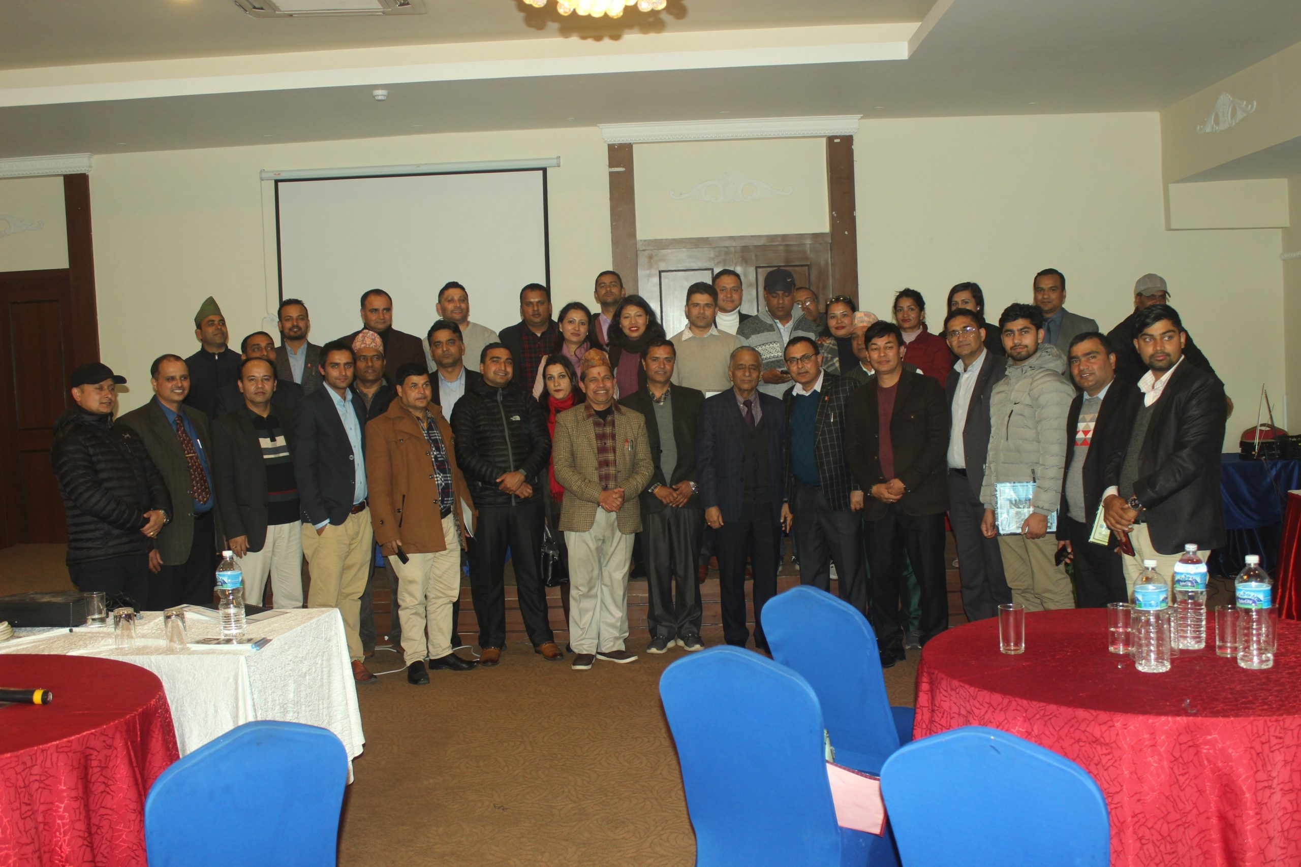Training Program for the Branch Manager of life and Non life Insurers at Pokhara- Teeka Resort