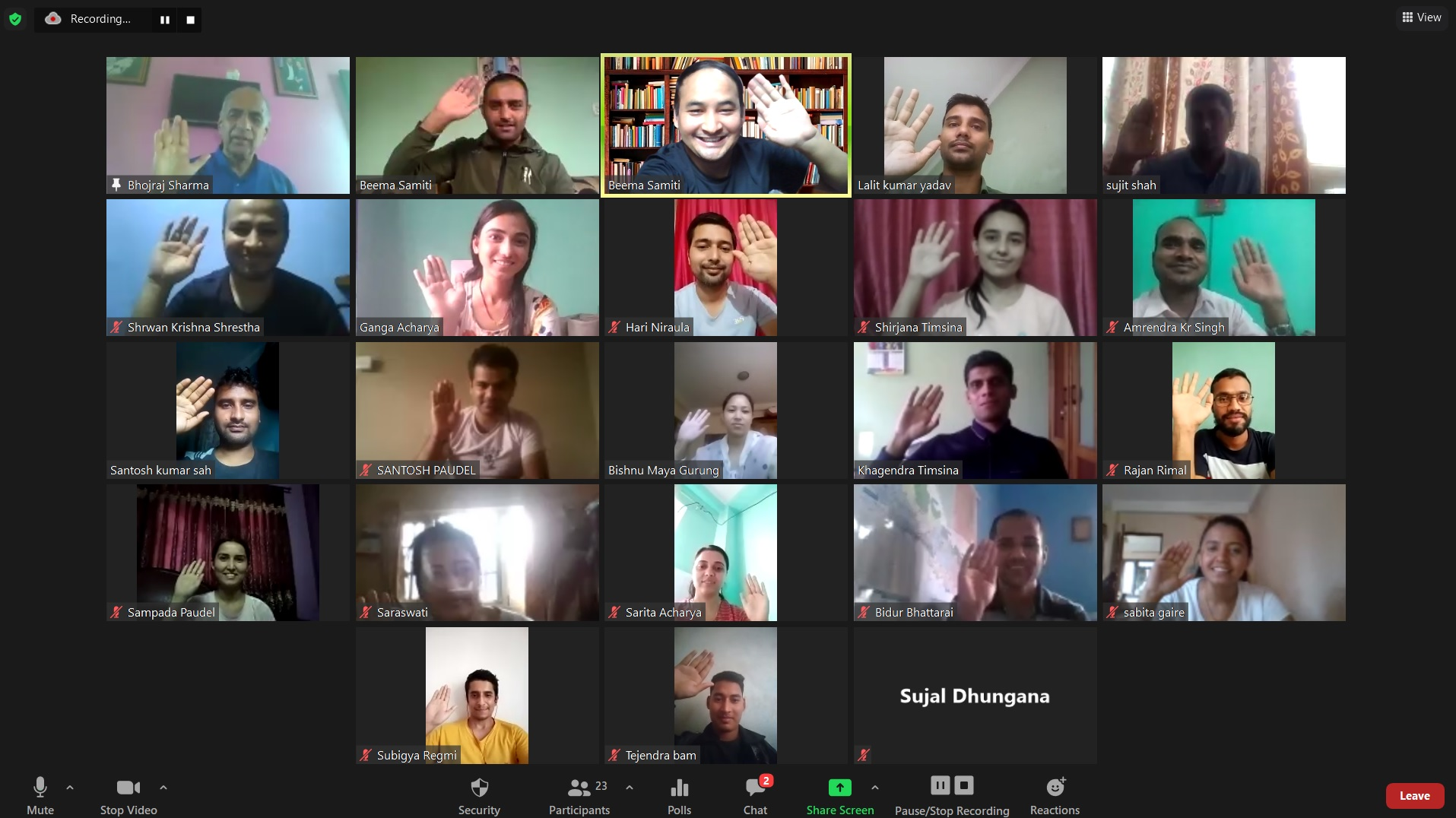 """""""CUSTOMIZED WEBINAR TRAINING FOR NEWLY RECRUITED OFFICIALS OF RASTRIYA BEEMA SANSTHAN"""" (DATE: 28 SEPT-2 OCT 2020)"""